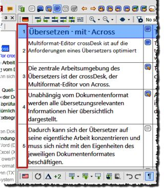 cDesk_source-view_segmentnummerierung
